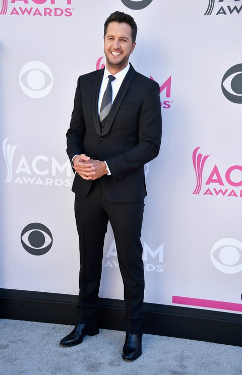 LAS VEGAS, NV - APRIL 02:  Co-host Luke Bryan attends the 52nd Academy Of Country Music Awards at Toshiba Plaza on April 2, 2017 in Las Vegas, Nevada.  (Photo by Frazer Harrison/Getty Images)