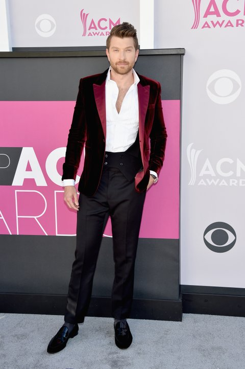 LAS VEGAS, NV - APRIL 02:    Recording artist Brett Eldredge attends the 52nd Academy Of Country Music Awards at Toshiba Plaza on April 2, 2017 in Las Vegas, Nevada.  (Photo by John Shearer/WireImage)