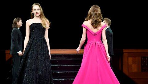 NASHVILLE, TN - APRIL 18:  The Zac Posen Fashion show at Schermerhorn Symphony Center on April 18, 2017 in Nashville, Tennessee.  (Photo by Jason Davis/Getty Images)