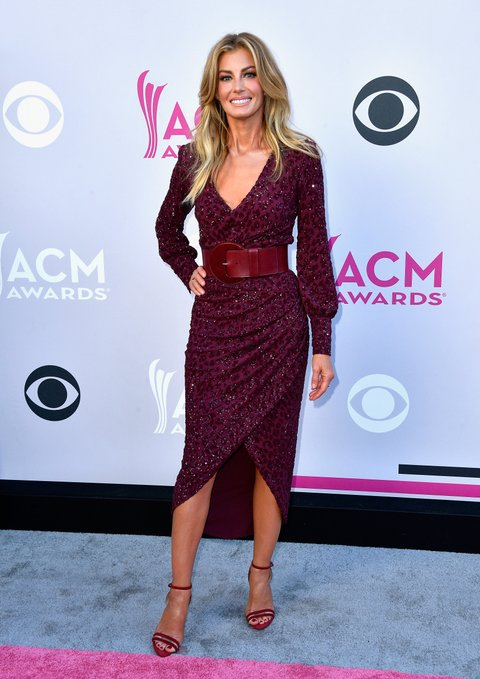 LAS VEGAS, NV - APRIL 02:  Recording artist Faith Hill attends the 52nd Academy Of Country Music Awards at Toshiba Plaza on April 2, 2017 in Las Vegas, Nevada.  (Photo by Frazer Harrison/Getty Images)