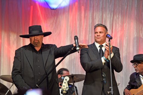 LOUISVILLE, KY - MAY 05:  Eddie Montgomery and Troy Gentry of Montgomery Gentry performs during the 29th Barnstable Brown Kentucky Derby Eve Gala on May 5, 2017 in Louisville, Kentucky.  (Photo by Stephen J. Cohen/Getty Images)