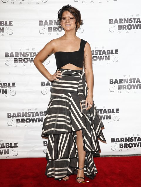 LOUISVILLE, KY - MAY 05:  Maren Morris appears at The Barnstable Brown Gala on May 5, 2017 in Louisville, Kentucky. (Photo by Michael Hickey/Getty Images)