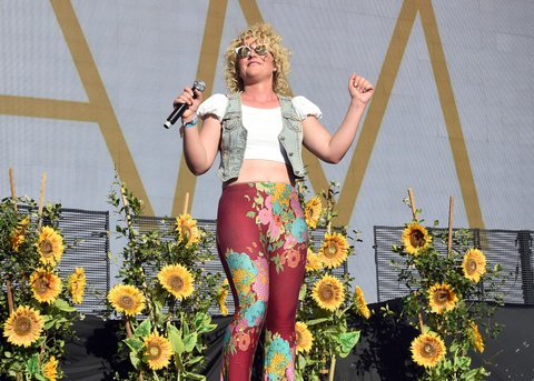 INDIO, CA - APRIL 30:  Singer Cam performs on the Toyota Mane Stage during day 3 of 2017 Stagecoach California's Country Music Festival at the Empire Polo Club on April 30, 2017 in Indio, California.  (Photo by Kevin Winter/Getty Images for Stagecoach)