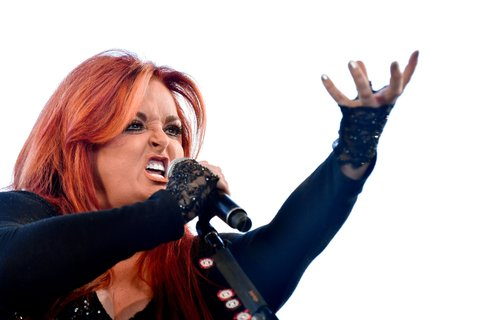 INDIO, CA - APRIL 30:  Singer Wynonna Judd of Wynonna & the Big Noise performs on the Palomino stage during day 3 of 2017 Stagecoach California's Country Music Festival at the Empire Polo Club on April 30, 2017 in Indio, California.  (Photo by Frazer Harrison/Getty Images for Stagecoach)