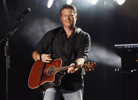 STATE COLLEGE, PA - JULY 08:   Singer/songwriter Blake Shelton performs during Happy Valley Jam 2017 in Beaver Stadium on the campus of Penn State University July 8, 2017 in State College, Pennsylvania.  (Photo by Rick Diamond/Getty Images for Happy Valley Jam)