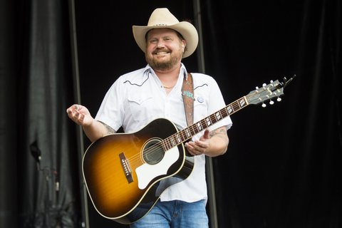 BROOKLYN, MI - JULY 22:  Randy Rogers performs during Faster Horses Festival at Michigan International Speedway on July 22, 2017 in Brooklyn, Michigan.  (Photo by Erika Goldring/WireImage)