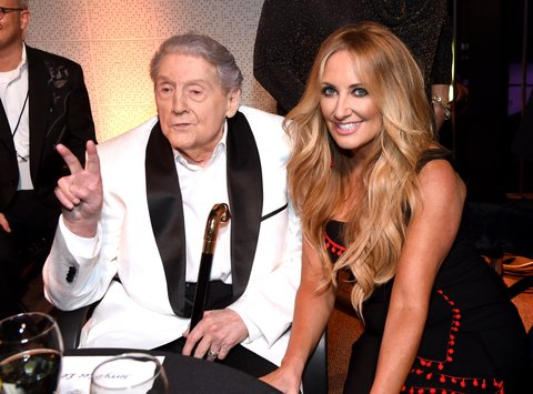 NASHVILLE, TN - AUGUST 24:  Jerry Lee Lewis and Lee Ann Womack attend Skyville Live Presents a Tribute to Jerry Lee Lewis on August 24, 2017 in Nashville, Tennessee.  (Photo by Rick Diamond/Getty Images for Skyville)