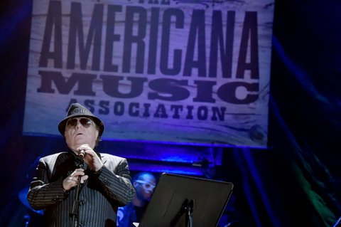 NASHVILLE, TN - SEPTEMBER 13:  Van Morrison performs onstage during the 2017 Americana Music Association Honors & Awards  on September 13, 2017 in Nashville, Tennessee.  (Photo by Rick Diamond/Getty Images for Americana Music)