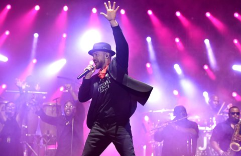 FRANKLIN, TN - SEPTEMBER 23:  Musician Justin Timberlake performs at the 2017 Pilgrimage Music & Cultural Festival on September 23, 2017 in Franklin, Tennessee.  (Photo by John Shearer/Getty Images for M2M Construction)