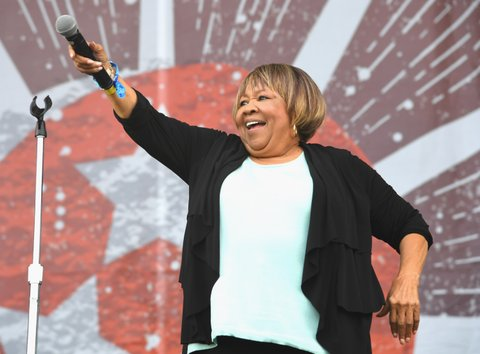 FRANKLIN, TN - SEPTEMBER 24:  Mavis Staples performs at Pilgrimage Music & Cultural Festival on September 24, 2017 in Franklin, Tennessee.  (Photo by Erika Goldring/Getty Images for Pilgrimage Music & Cultural Festival)