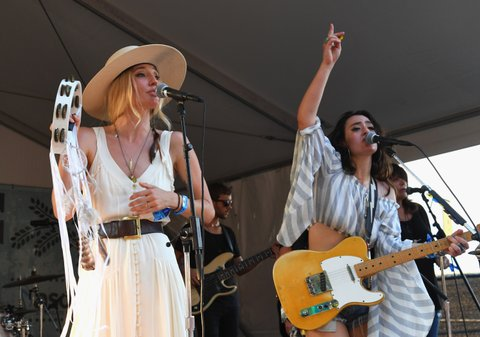 FRANKLIN, TN - SEPTEMBER 24:  Ruby Stewart and Alyssa Bonagura perform at Pilgrimage Music & Cultural Festival on September 24, 2017 in Franklin, Tennessee.  (Photo by Erika Goldring/Getty Images for Pilgrimage Music & Cultural Festival)