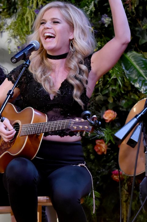 NASHVILLE, TN - NOVEMBER 07:  Singer-songwriter Natalie Stovall performs onstage during the 2017 CMT Next Women Of Country Celebration at City Winery Nashville on November 7, 2017 in Nashville, Tennessee.  (Photo by Rick Diamond/Getty Images for CMT)