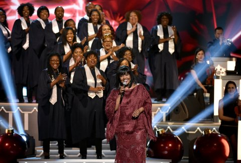 NASHVILLE, TN - NOVEMBER 14:  CeCe Winans performs onstage for CMA 2017 Country Christmas at The Grand Ole Opry on November 14, 2017 in Nashville, Tennessee.  (Photo by John Shearer/Getty Images,)