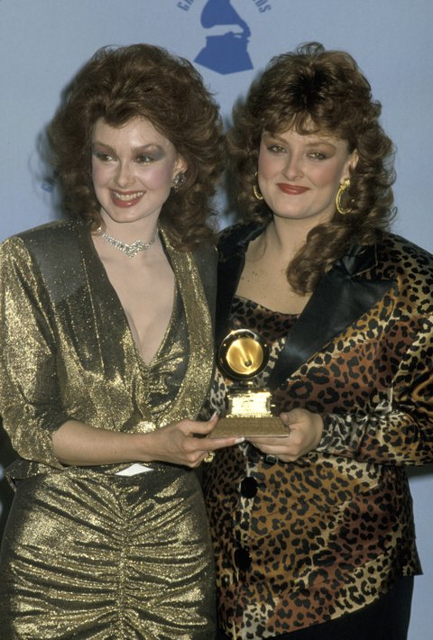 Naomi Judd and Wynonna Judd at the Shrine Auditorium in Los Angeles, California (Photo by Jim Smeal/WireImage)