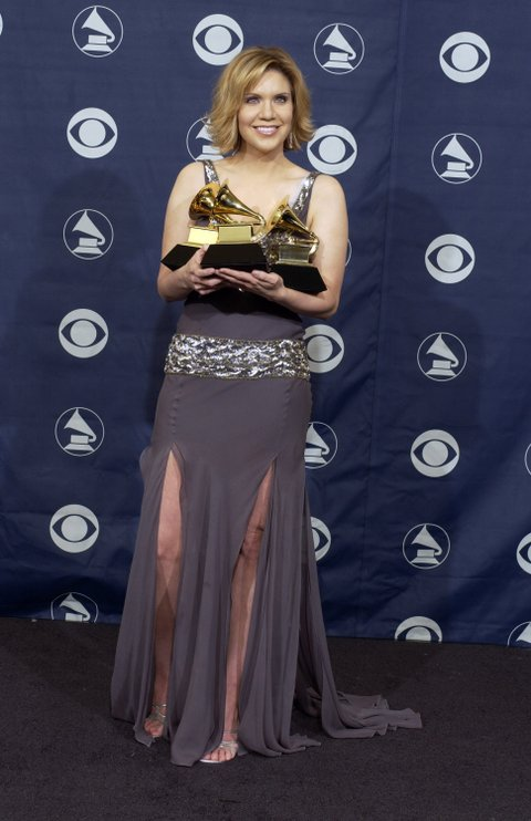 Alison Krauss, winner of Best Country Collaboration with Vocals (Photo by SGranitz/WireImage)