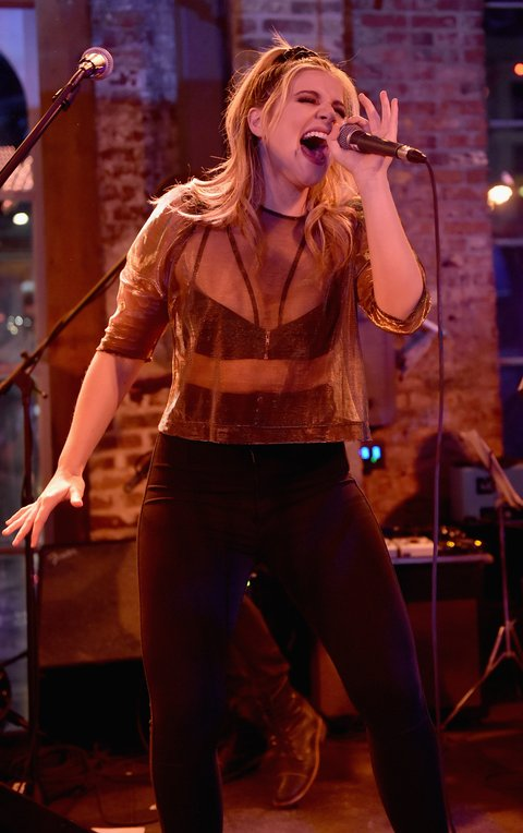 NASHVILLE, TN - JANUARY 14:  Lauren Alaina performs onstage during the Nashville Opening of Dierks Bentley's Whiskey Row on January 14, 2018 in Nashville, Tennesse  (Photo by John Shearer/Getty Images for Dierks Bentley's Whiskey Row Nashville)