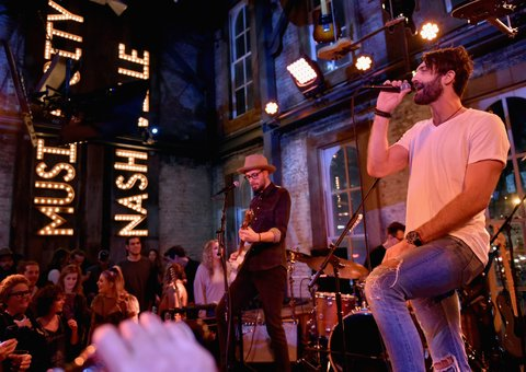 NASHVILLE, TN - JANUARY 14: Ryan Hurd performs onstage during the Nashville Opening of Dierks Bentley's Whiskey Row on January 14, 2018 in Nashville, Tennesse  (Photo by John Shearer/Getty Images for Dierks Bentley's Whiskey Row Nashville)