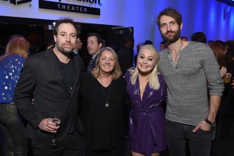 NEW YORK, NY - FEBRUARY 12: Songwriter Phil Barton, songwriter and publisher Liz Rose, musician and CMT Next Women of Country RaeLynn Davis and musician Ryan Hurd attend the Country Music Hall of Fame and Museum's 'All for the Hall' Benefit on February 13, 2018 in New York City.  (Photo by Michael Loccisano/Getty Images for Country Music Hall Of Fame)