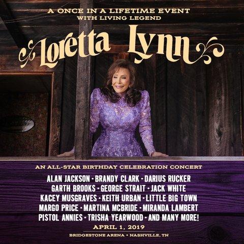03c41b3c7dbad Loretta Lynn s Birthday Tribute Books Garth Brooks