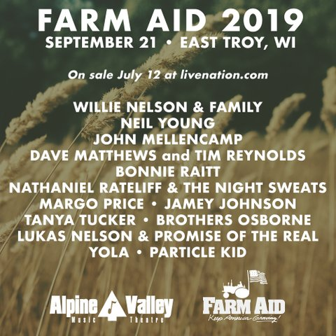 Bonnie Raitt Margo Price Tanya Tucker Join Farm Aid 2019 Cmt