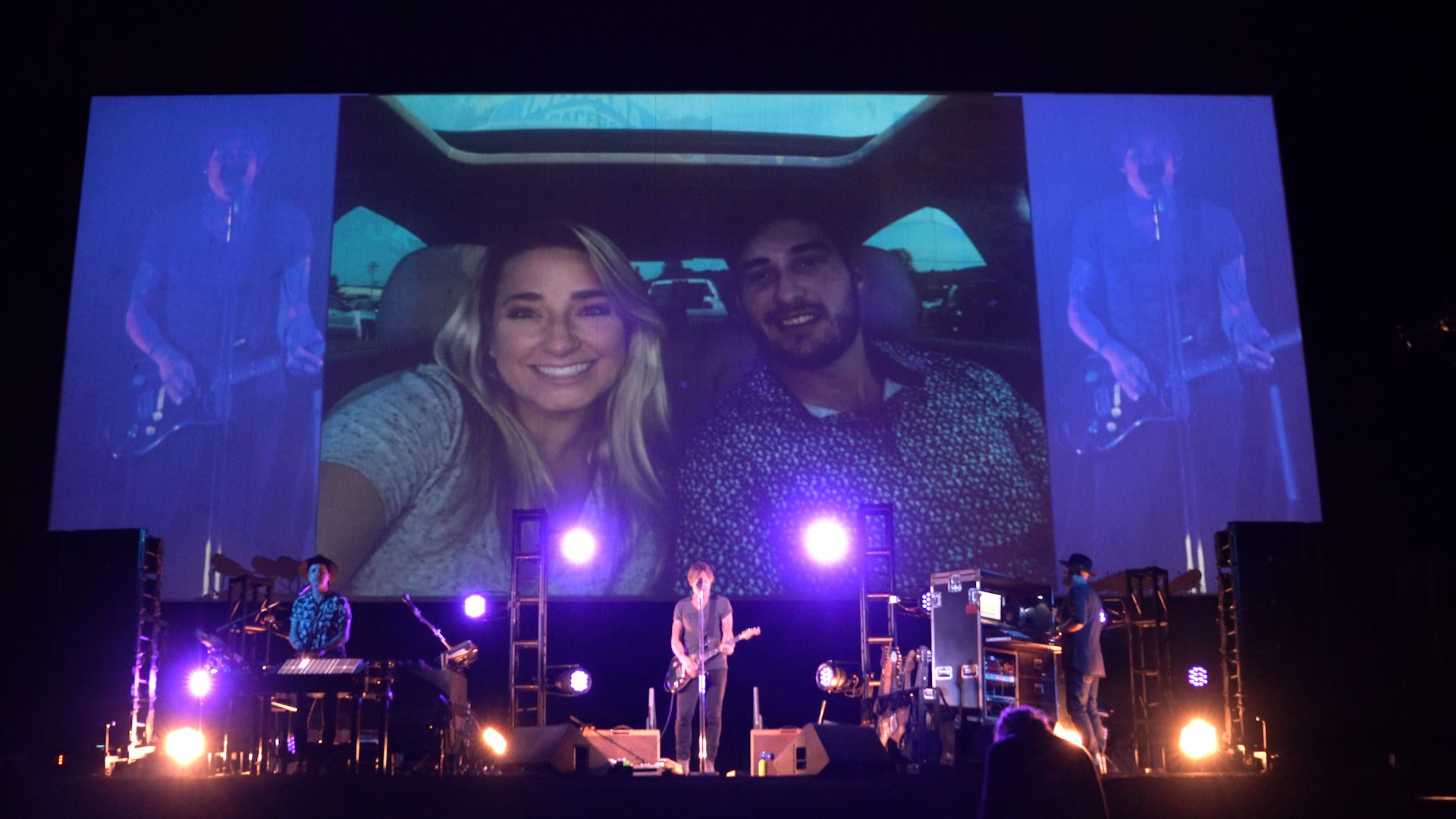 Keith Urban Serenades Medical Workers in Drive-By Concert