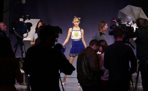 Taylor Swift Wax Figure