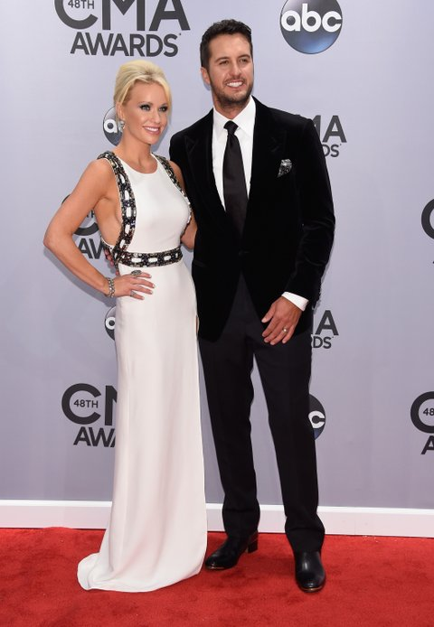 Luke Bryan and His Wife Caroline