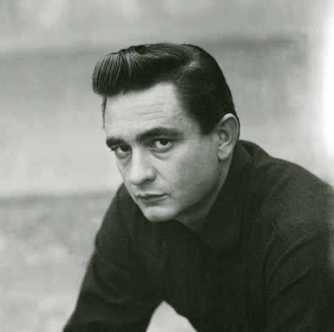 BKMG4R JOHNNY CASH PORTRAIT