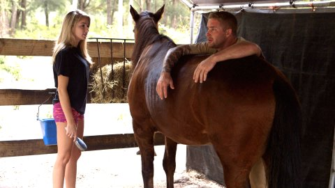 Brian and Shelby Horse 1