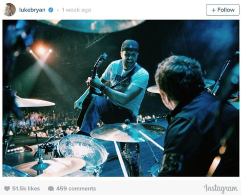 Luke Instagram