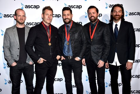 Old Dominion attends the 53rd annual ASCAP Country Music awards at the Omni Hotel on November 2, 2015 in Nashville, Tennessee.