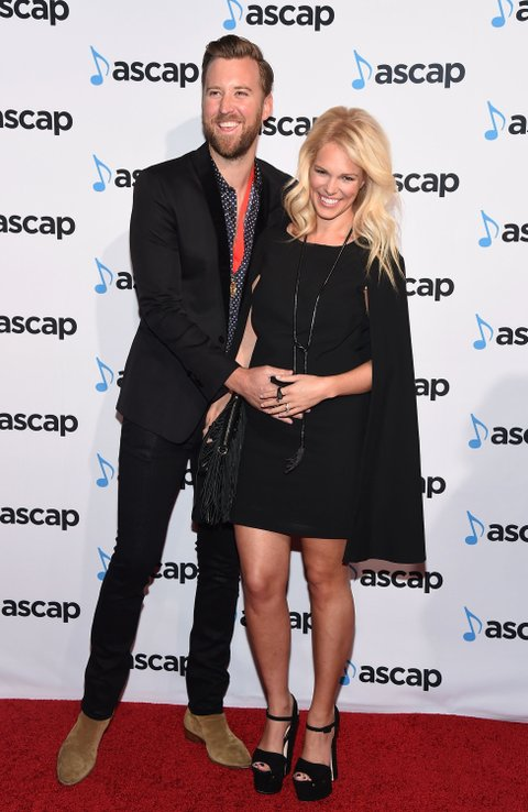NASHVILLE, TN - NOVEMBER 02: Singer-songwriter Charles Kelley of Lady Antebellum and Cassie McConnell attend the 53rd annual ASCAP Country Music awards at the Omni Hotel on November 2, 2015 in Nashville, Tennessee. (Photo by Michael Loccisano/Getty Images)