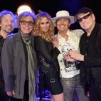 Cheap Trick and Jennifer Nettles look perfectly at home onstage together in this clip from their upcoming CMT Crossroads performance. The country star and the iconic rockers blew the roof off the hous...