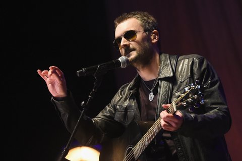 NASHVILLE, TENNESSEE - MARCH 16:  Eric Church performs at The Life & Songs of Kris Kristofferson produced by Blackbird Presents at Bridgestone Arena on March 16, 2016 in Nashville, Tennessee.  (Photo by Rick Diamond/Getty Images for Essential Broadcast Media)