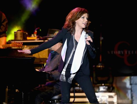 LAS VEGAS, NEVADA - APRIL 01:  Singer Martina McBride performs onstage at the 4th ACM Party for a Cause Festival at the Las Vegas Festival Grounds on April 1, 2016 in Las Vegas, Nevada.  (Photo by Mark Davis/Getty Images for ACM)