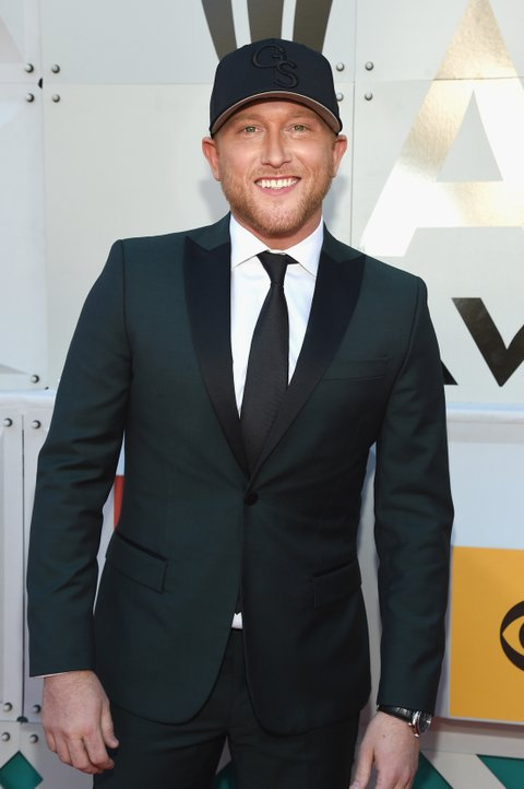 LAS VEGAS, NEVADA - APRIL 03: Recording artist Cole Swindell attends the 51st Academy of Country Music Awards at MGM Grand Garden Arena on April 3, 2016 in Las Vegas, Nevada.