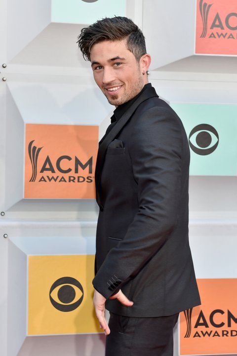 LAS VEGAS, NEVADA - APRIL 03: Singer Michael Ray attends the 51st Academy of Country Music Awards at MGM Grand Garden Arena on April 3, 2016 in Las Vegas, Nevada.