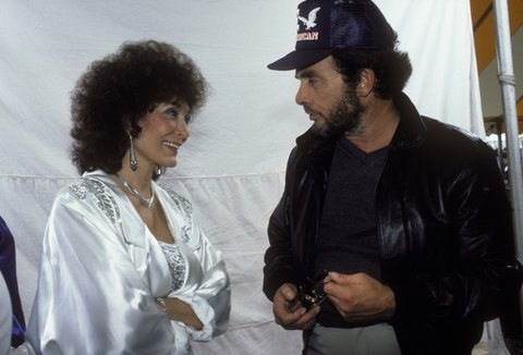 UNSPECIFIED - JANUARY 01:  Photo of Merle HAGGARD and Loretta LYNN; w/Merle Haggard  (Photo by Ebet Roberts/Redferns)