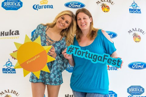 Kelsea and Roxanne at Tortuga