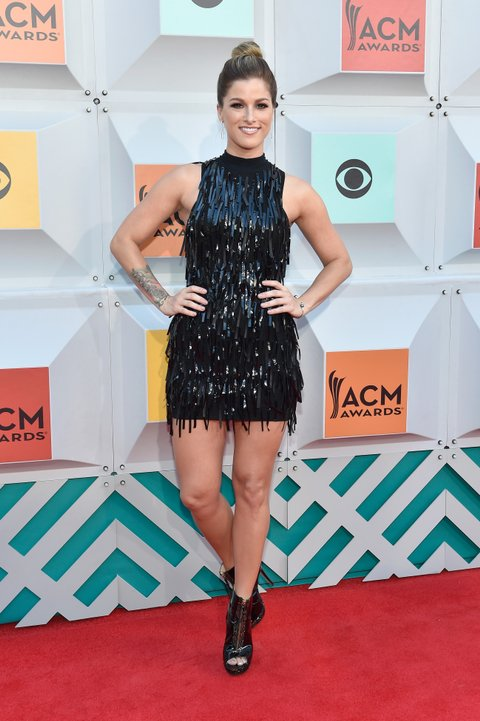 Cassadee Pope attends the 51st Academy of Country Music Awards at MGM Grand Garden Arena on April 3, 2016 in Las Vegas, Nevada.