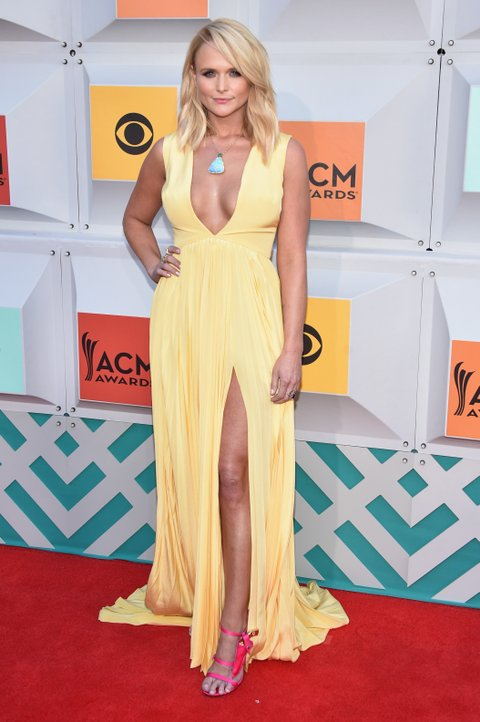 Miranda Lambert attends the 51st Academy of Country Music Awards at MGM Grand Garden Arena on April 3, 2016 in Las Vegas, Nevada.