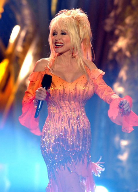 Host Dolly Parton (Photo by J.Sciulli/WireImage)