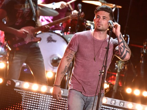 NASHVILLE, TN - JUNE 06:  Recording artist Michael Ray performs onstage during the 2016 CMT Music Awards - Rehearsals Day 1 at Bridgestone Arena on June 6, 2016 in Nashville, Tennessee.  (Photo by Mike Coppola/Getty Images for CMT)