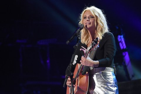 NASHVILLE, TN - JUNE 09:  Singer-songwriter Miranda Lambert performs onstage during 2016 CMA Festival - Day 1 at Nissan Stadium on June 9, 2016 in Nashville, Tennessee.  (Photo by Rick Diamond/Getty Images)