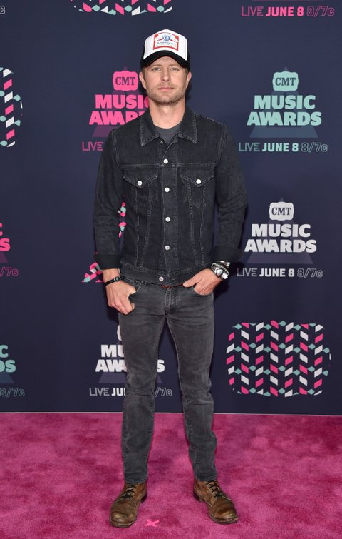 NASHVILLE, TN - JUNE 08: Dierks Bentley attends the 2016 CMT Music awards at the Bridgestone Arena on June 8, 2016 in Nashville, Tennessee.  (Photo by John Shearer/WireImage)