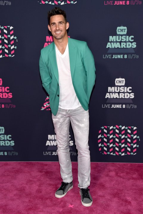 NASHVILLE, TN - JUNE 08:  Musician Jake Owen attends the 2016 CMT Music awards at the Bridgestone Arena on June 8, 2016 in Nashville, Tennessee.  (Photo by John Shearer/WireImage)