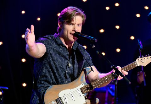 NASHVILLE, TN - JULY 13:  Chris Carmack performs onstage during Skyville Live Salutes the Magic of Music City on July 13, 2016 in Nashville, Tennessee.  (Photo by Frederick Breedon/Getty Images for Skyville)