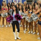 Two-time Grammy winner Kacey Musgraves stopped by DCC rehearsal's on last week's episode of Dallas Cowboys Cheerleaders: Making The Team. She even danced with the DCC hopefuls -- and killed it, obviou...