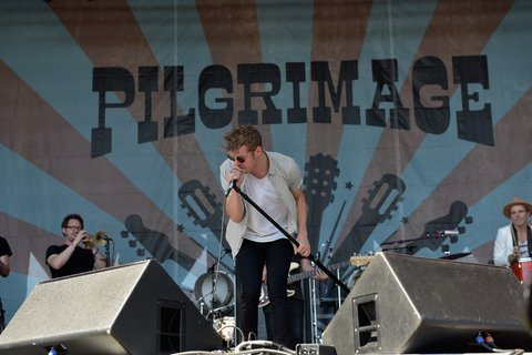 FRANKLIN, TN - SEPTEMBER 25:  Anderson East performs onstage at the Pilgrimage Music & Cultural Festival - Day 2 on September 25, 2016 in Franklin, Tennessee.  (Photo by Erika Goldring/Getty Images for Pilgrimage Music & Cultural Festival)