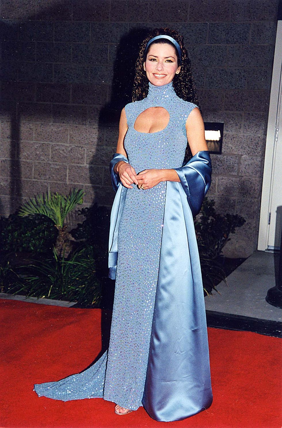 Shania Twain during Billboard Awards '98 at MGM Grand in Las Vegas, Nevada, United States. (Photo by Jeff Kravitz/FilmMagic, Inc)